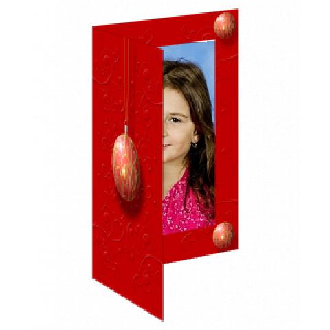 Přání červené ozdoba koule 2 ks  (150,00 Kč)